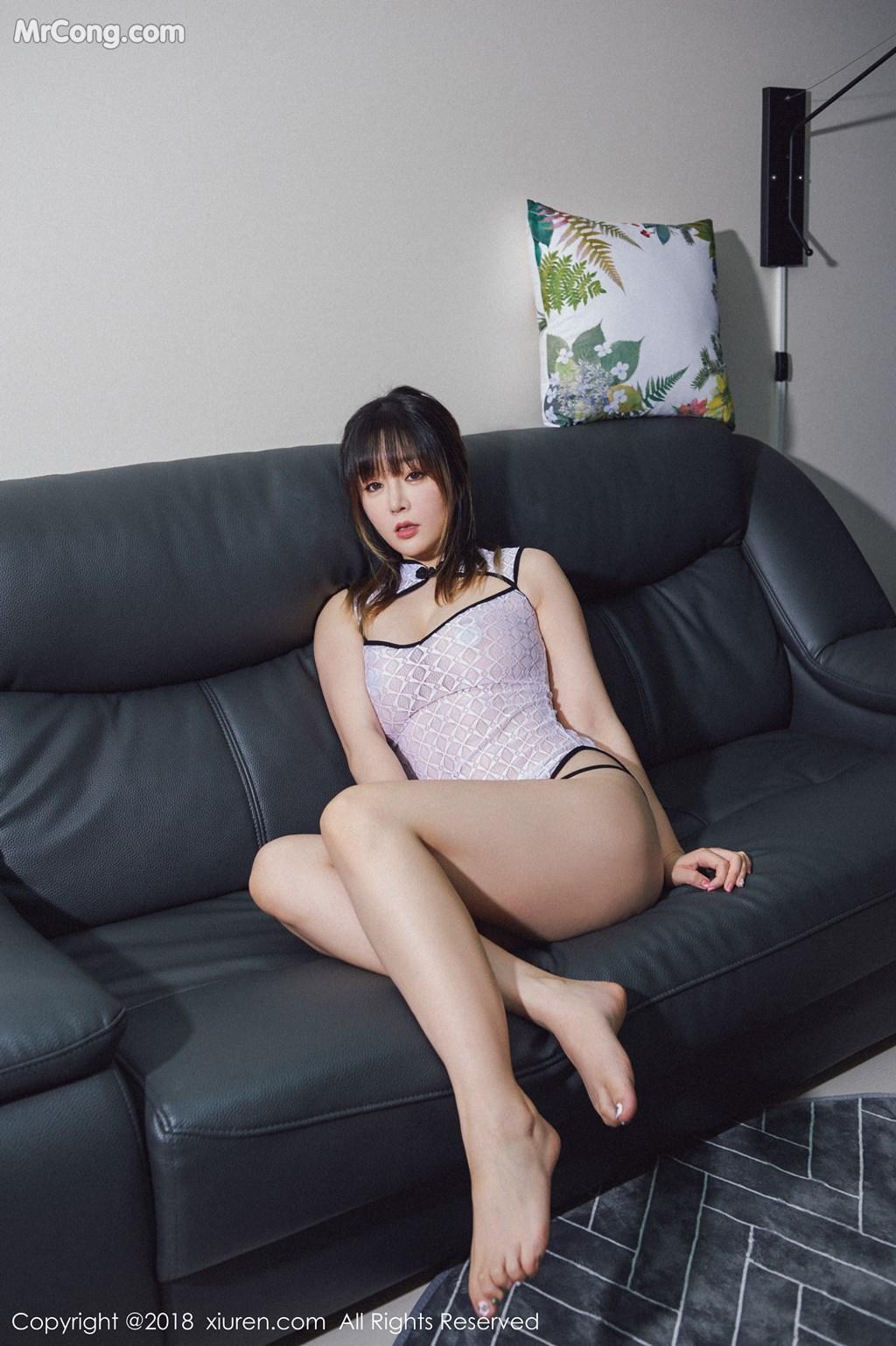 Image XIUREN-No.1127-Wang-Yu-Chun-MrCong.com-003 in post XIUREN No.1127: Người mẫu Wang Yu Chun (王雨纯) (41 ảnh)