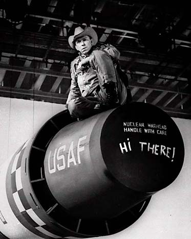 Slim Pickens Legendary Character Man Of Dr Strangelove