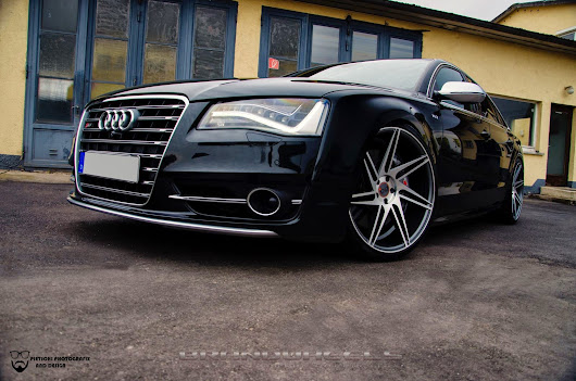 2015 Audi S8 With 22 Inch BD-1's in Matte Graphite