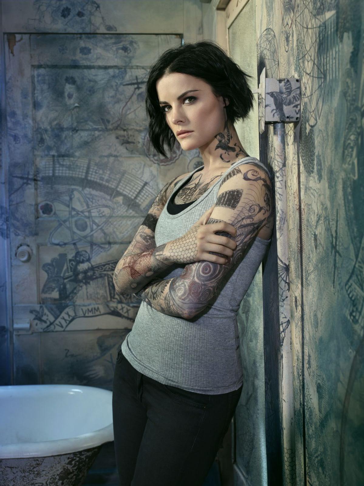 HQ Hot & Sexy Wallpapers of Marvel Comics Actress Jaimie Alexander Blindspot Season 2 Promos