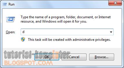 Cara menghapus history Run di Windows tanpa bekas