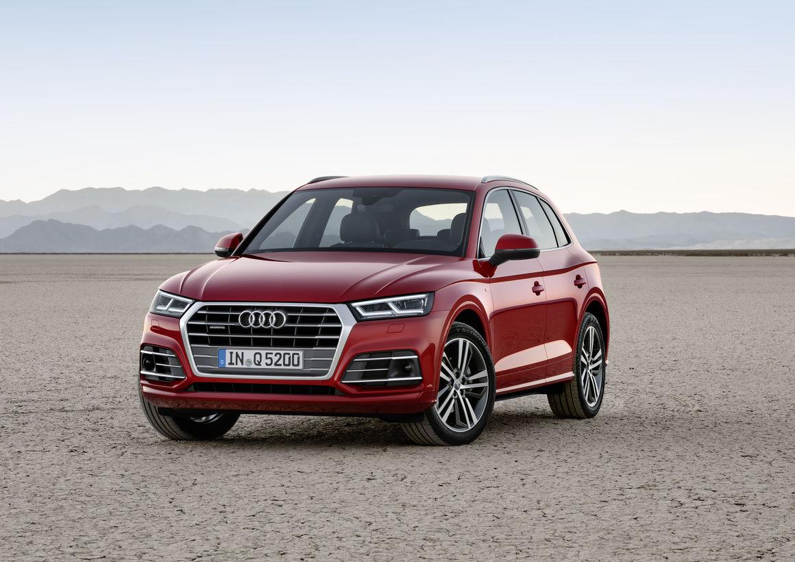 Foto nuova Audi Q5 2017 salone parigi 2016