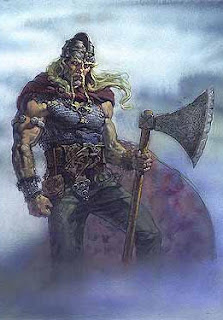 A Viking Warrior