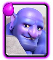 Bowler kartu baru di Frozen Peak arena Clash Royale