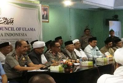 ENAM POINT Kesepakatan Aksi Bela Islam III antara GNPF MUI dengan Polri