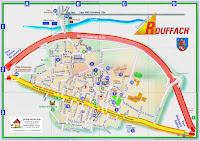 Plano de Rouffach, Alsacia, Francia