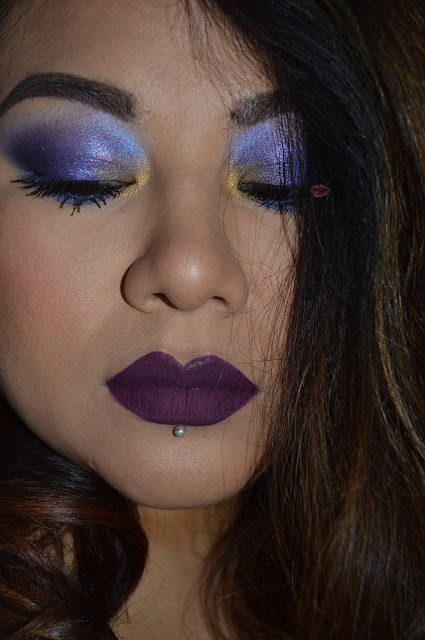 Bold Makeup with Exorcism, Relic and Ministry of the Saint & Sinner Kat Von D and Royal Retro Luxe by Makeup Revolution