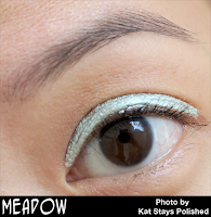 Jesse's Girl Cosmetics - Fluid Shadows - Meadow | Kat Stays Polished