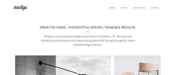 penerapan ruang putih pada desain website