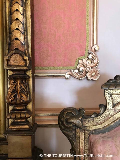 Palacio de los Capitanes Generales - furniture detail Museum de la Ciudad