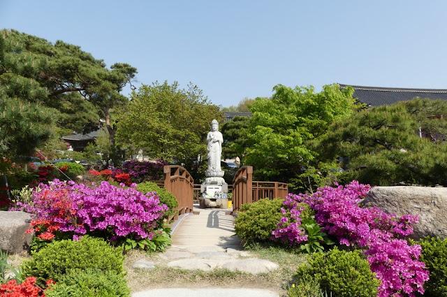 Bongeunsa - buddhistischer Tempel in Seoul - Impressionen