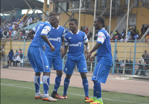 Image result for Odey's brace inspires MFM FC to 2-1 win against Plateau Utd