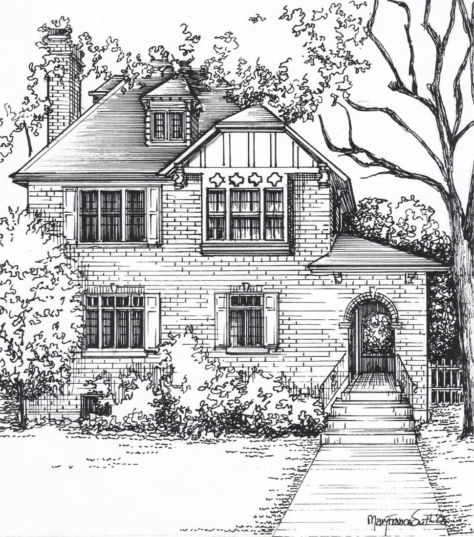 05-Custom-House-Sketch-Mary-Frances-Smith-Architecture-Expressed-in-House-Drawings-www-designstack-co