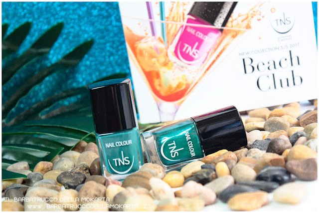 review smalto unghie beach club collection TNS cosmetics