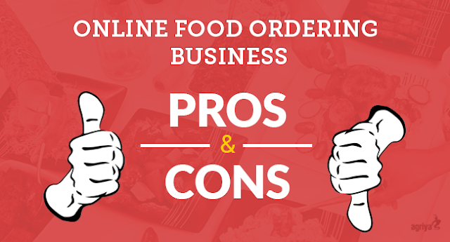 Pros and cons of Online Food ordering Business