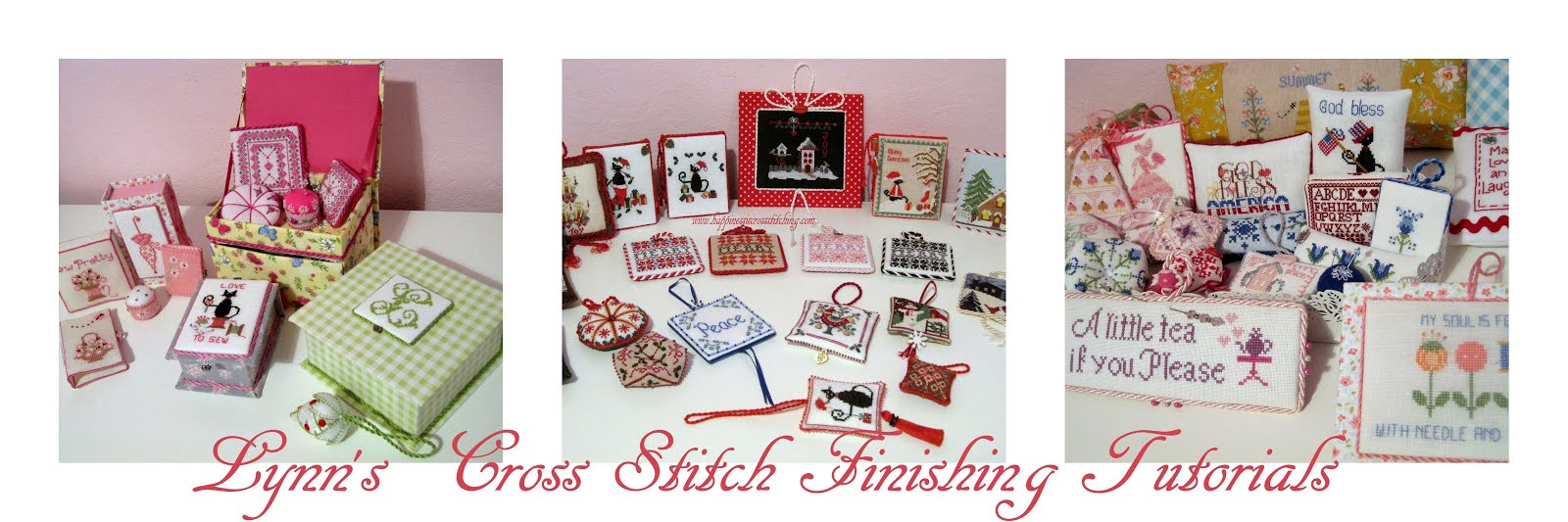 Lynn B 's finishing instructions for cross stitch