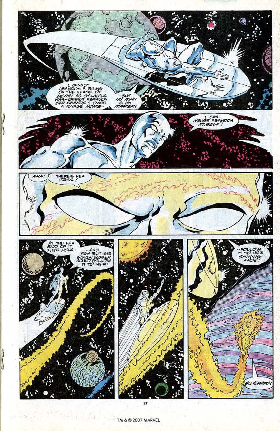 Read online Silver Surfer (1987) comic -  Issue #19 - 19