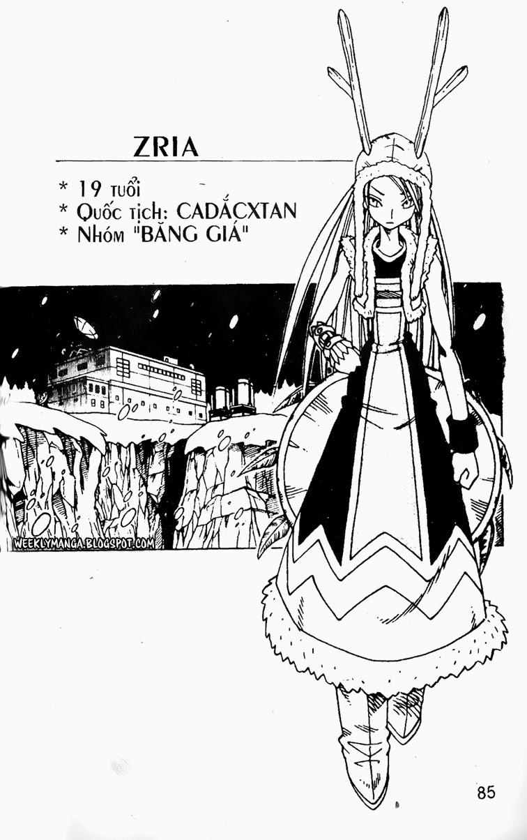 Shaman King [Vua pháp thuật] chap 127 trang 11