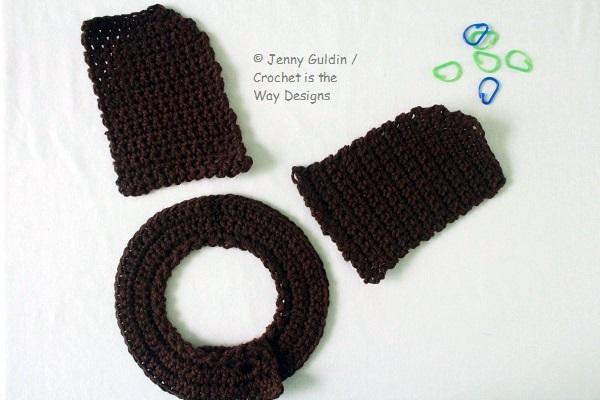 baby, Bernat Boa, crochet, eyelash, furry, Furry Fingerless Gloves, hood, how to, pattern, surface crochet, tutorial, Yarn