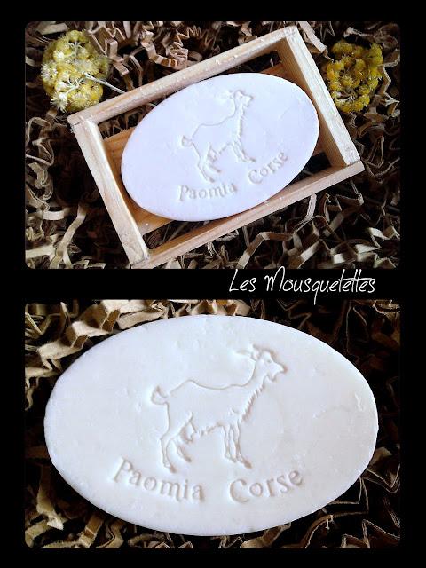 Savon au Lait de Chèvre A Fughjina Corsica Beauty - Les Mousquetettes©