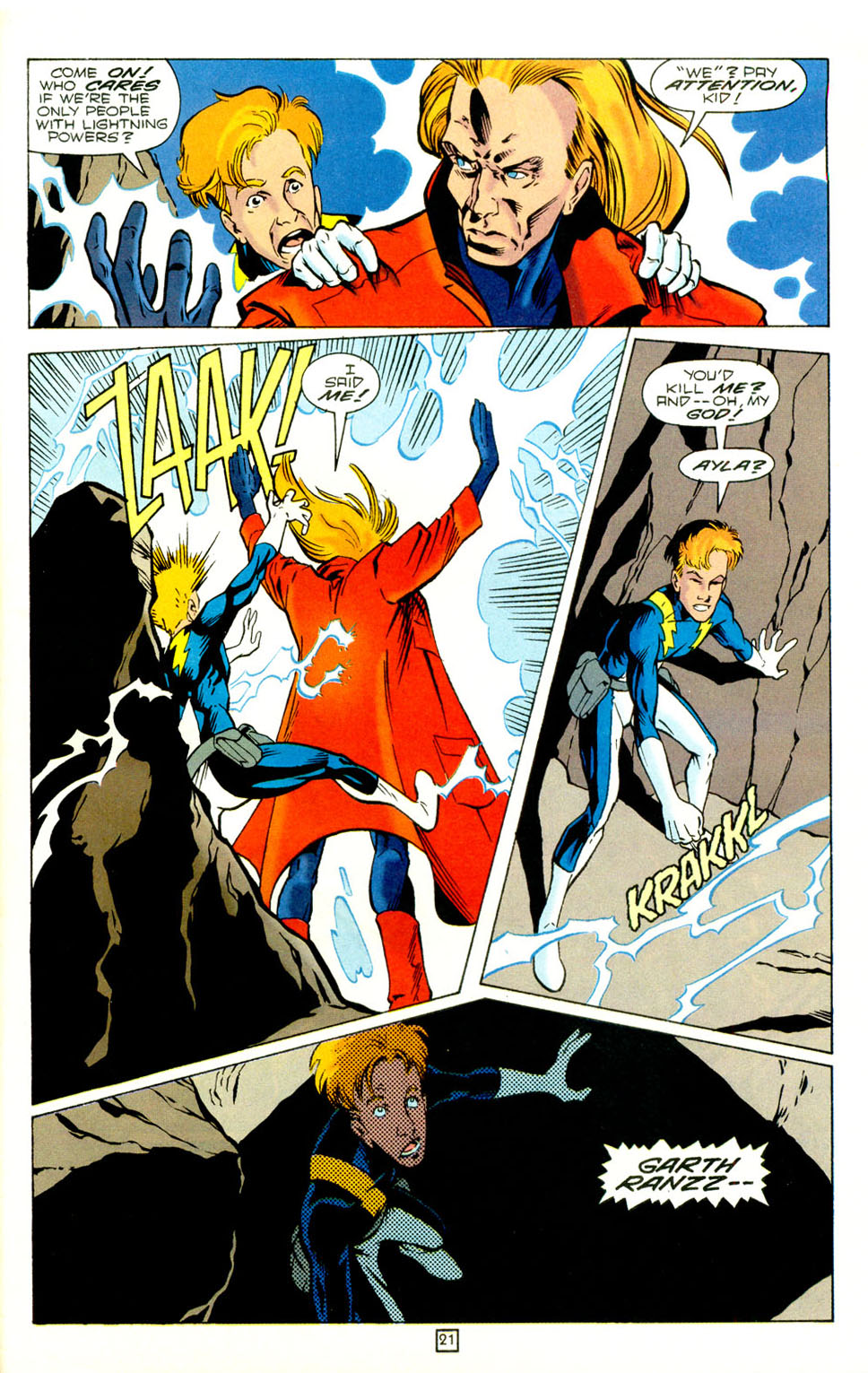 Legion of Super-Heroes (1989) 73 Page 21