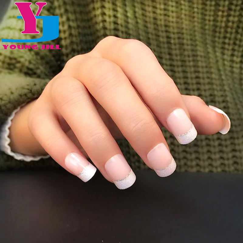 awesome french nails gallery