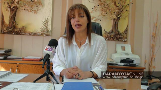 Το μήνυμα της Σταυρούλας Μπραΐμη για την σημερινή επέτειο της απελευθέρωσης της Παραμυθιάς