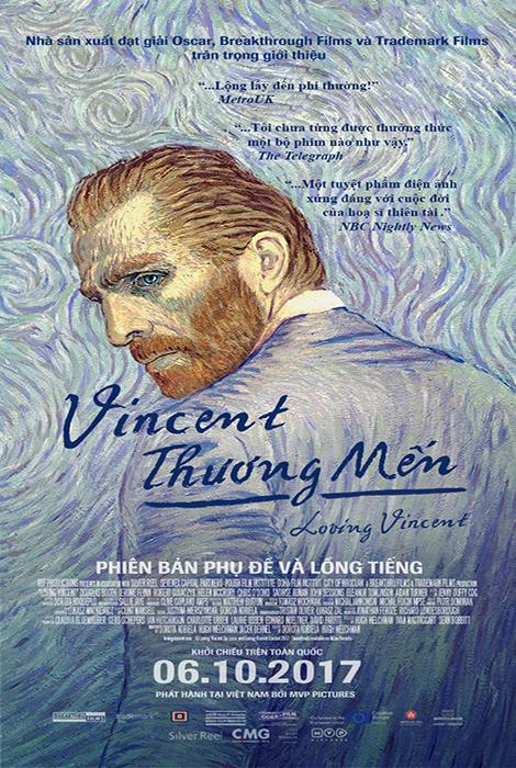 Vincent Thương Mến - Loving Vincent (2017)