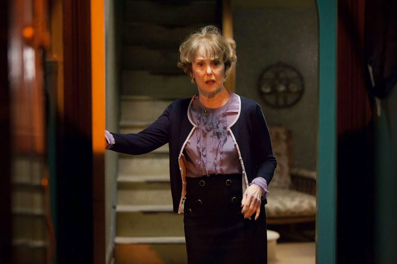 Una Stubbs as Mrs Hudson in BBC Sherlock Season 3 Episode 1 The Empty Hearse