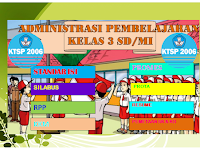 Administrasi pembelajaran kelas 3 SD/MI Kurikulum KTSP