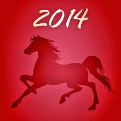 Free Printable Chinese Lanterns for the Year of the Horse