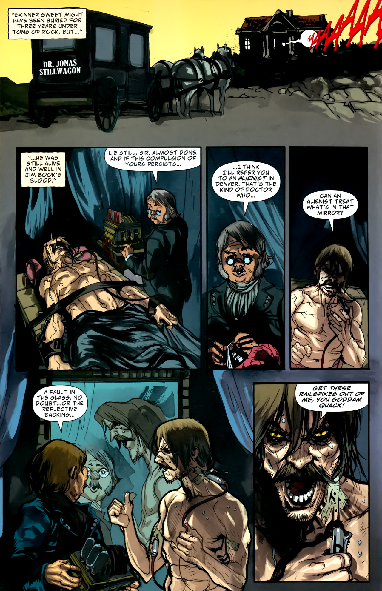 Read online American Vampire comic -  Issue #5 - 21