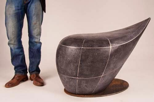 Sculptural benches collection for outdoor furniture by ...