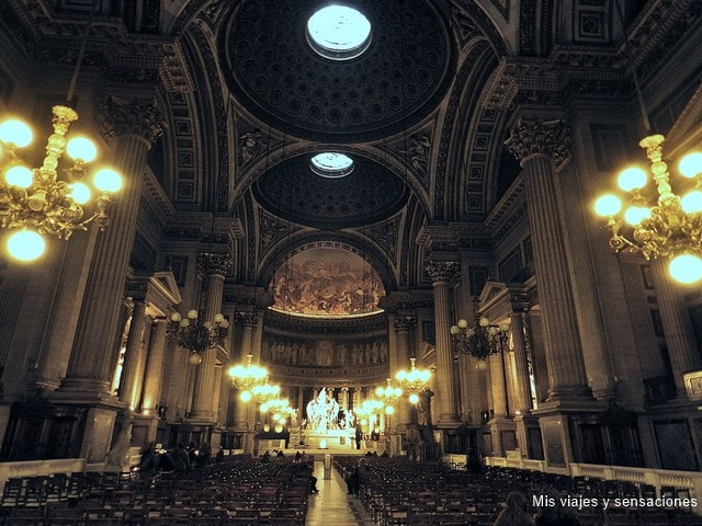 Iglesia de la Madeleine, París, Francia