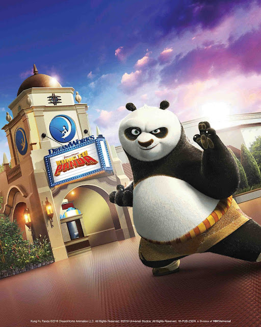 "DreamWorks Theater Opening June 15, 2018 at Universal Studios Hollywood with ""Kung Fu Panda: The Emperor's Quest"""