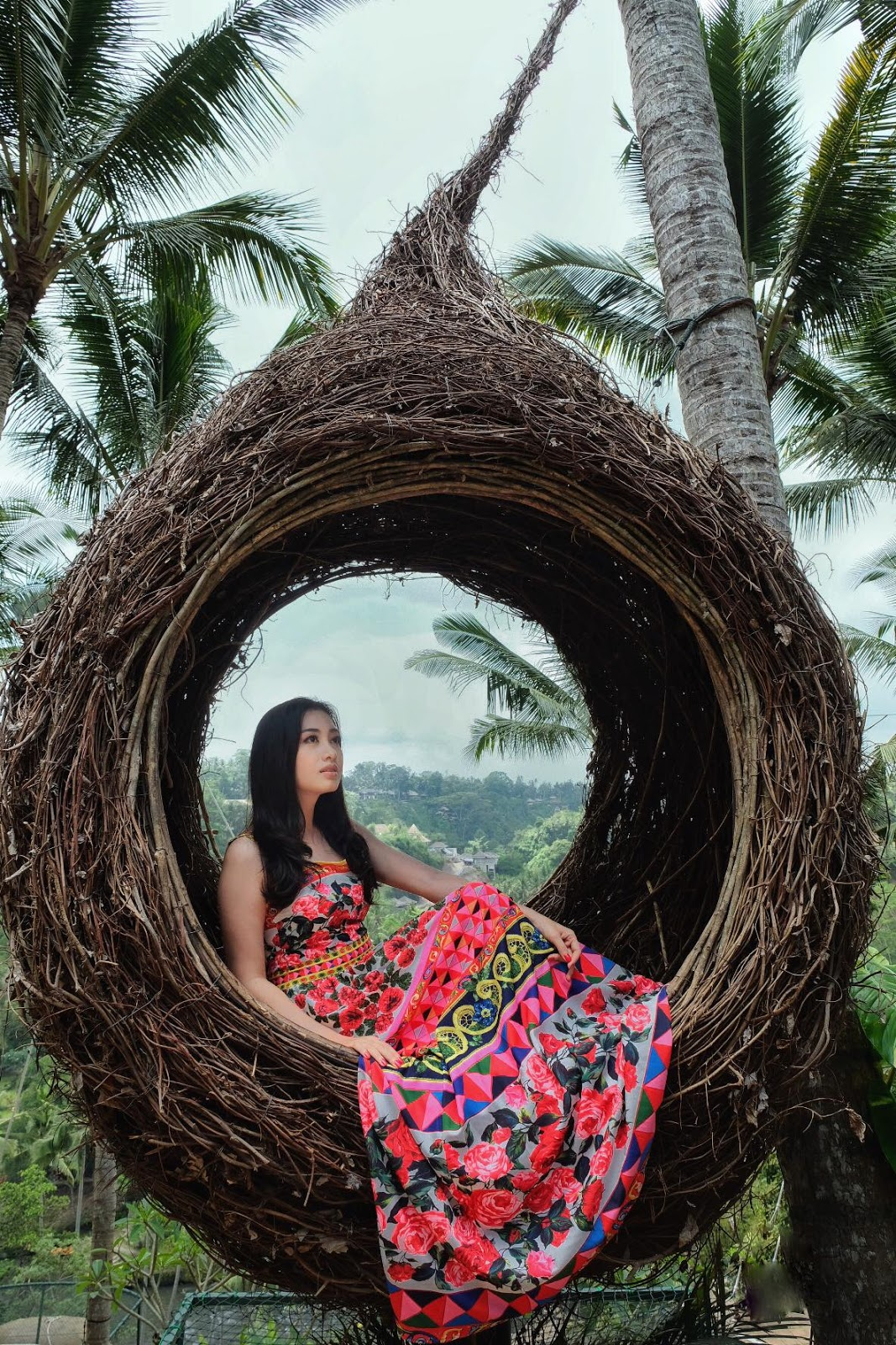 Yu Thandar Tin Fashion Snaps in Bali, Indonesia
