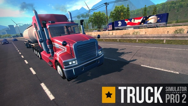Truck Simulator PRO 2  MOD APK (Unlimited Money) v1.6