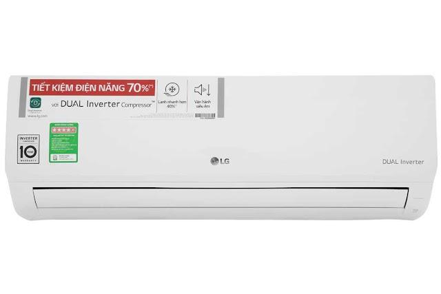 Review máy điều hòa nhiệt độ LG dual inverter V10ENH