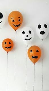 decoração barata halloween