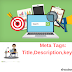 Meta Tags-Title ,Description,Keywords