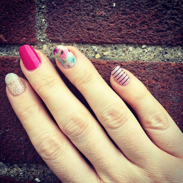 Mrs Bishop's Jamberry nails