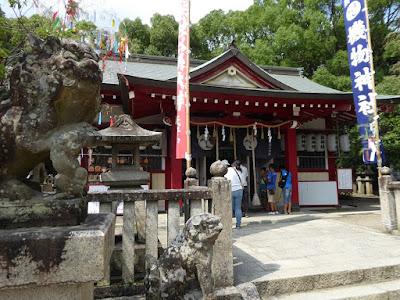 機物神社 拝殿