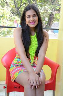 Telugu Actress Prasanna Stills in Short Dress at Inkenti Nuvve Cheppu Press Meet Stills  0154.JPG