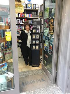 La Libreria Italiana di Rita Sparagna promuove Manzini, Sellerio