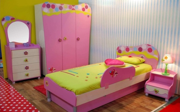غرف اطفال, سرير