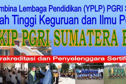 Pendaftaran Mahasiswa Baru STKIP PGRI Sumatera Barat 2021-2022