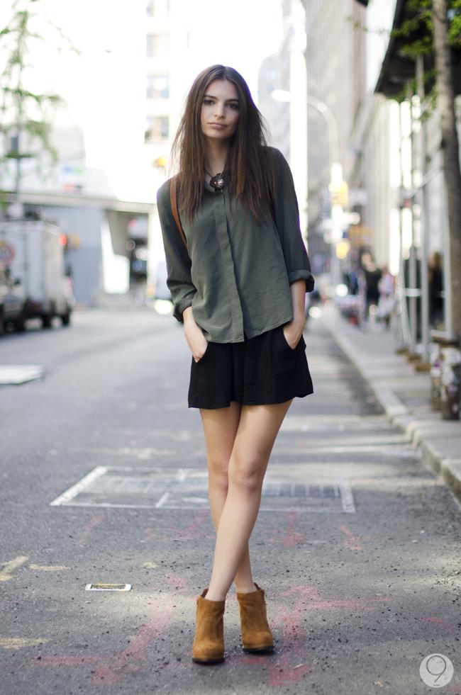 Moda Y Tendencias Rtg Estilista De Moda Y Blogger En Madrid Streetstyle Emily Ratajkowski