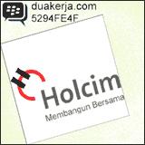 Lowongan Kerja PT Holcim Indonesia Tbk Terbaru Desember Tahun 2014