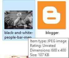 Detail file setelah diperkecil