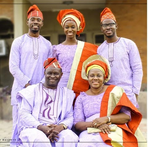 gloria bamiloye family